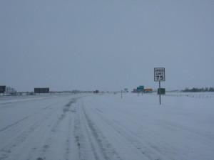 South Dakota in January